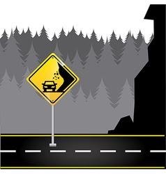 road traffic vector image