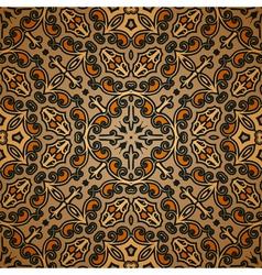 Old carpet pattern vector image