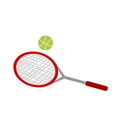 A tennis racket vector