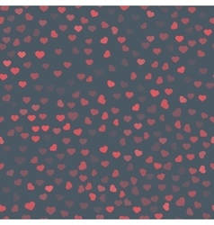 Abstract Valentine s Day hearts Red hearts vector image
