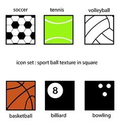ballSquare vector image