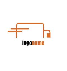 Delivery service logo vector