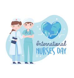International nurses day vector