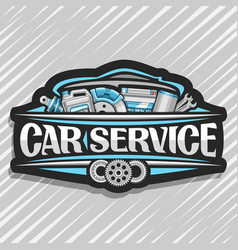 Logo for car service vector