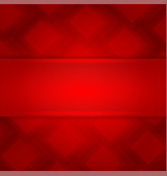 red square abstract background vector image