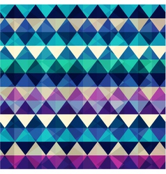 seamless colorful geometric pattern vector image