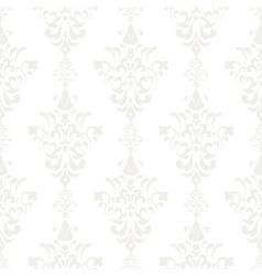 Silver vintage seamless wallpaper vector