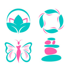 spa and boutique vector image