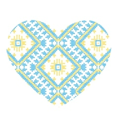 Ukrainian national ornaments vector