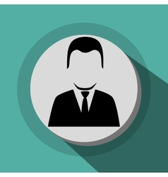 Businessmen profile icon vector image