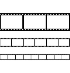 seamless film strip filmstrip vector image vector image