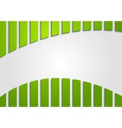 Colourful abstract green backdrop vector image