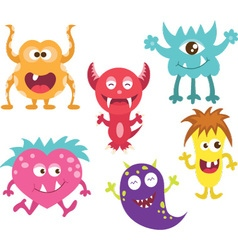 Cute Moster vector image