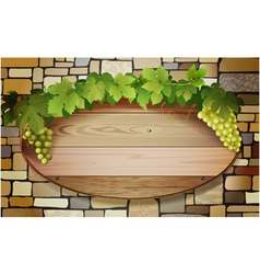 grape banner vector image