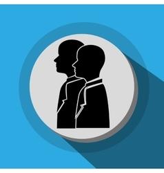 Businessmen profile icon vector