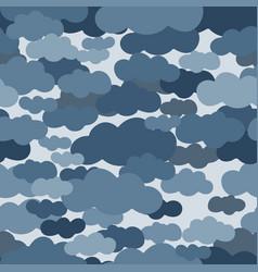 clouds in sky vector image