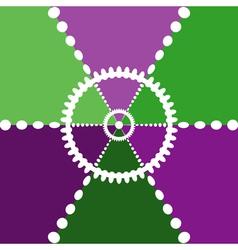 Color segments backdrop vector