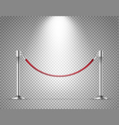 Presentation template with barrier isolated vector