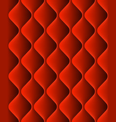 Red padded upholstery seamless pattern texture vector