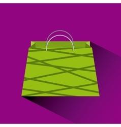 Shopping bag icon vector