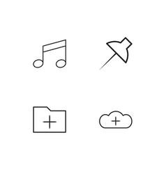 Sosial media icons set vector