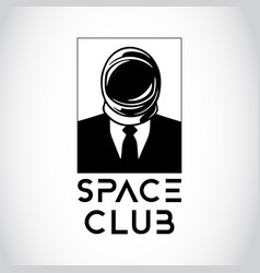 space business man vector image vector image