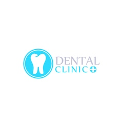 Logo dental care clinic dentistry for kids Teeth vector image vector image