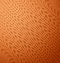 Basketball texture with bumps vector image vector image