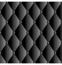 abstract black upholstery background vector image