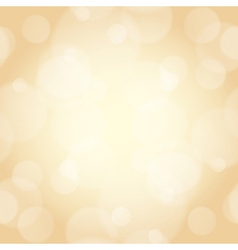 beige background with bokeh effect vector image