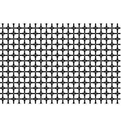 cross pattern vector image