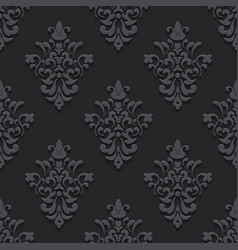 Elegant luxury texture black with shadows vector