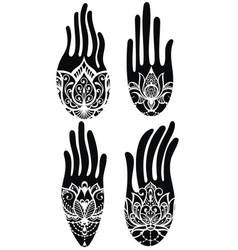 hamsa collection vector image