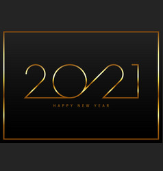 Happy new year 2021 background decorative with vector