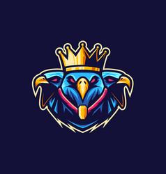 King eagle vetor logo vector
