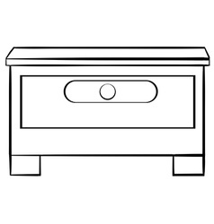 Drawer vector image vector image