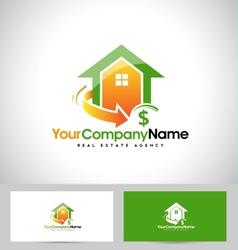 Real Estate Design House vector image