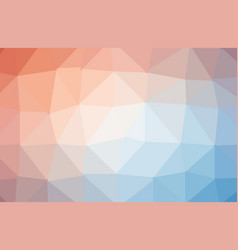 Abstract colorful polygon geometric background vector