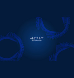 dark blue abstract background with lettering vector image