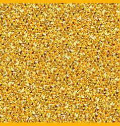gold glitter sparkling seamless pattern vector image