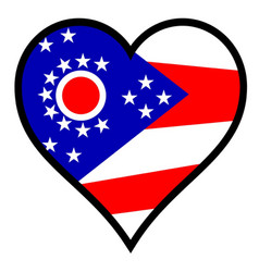 Love ohio vector