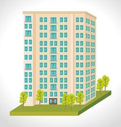 Urban and cityscape design vector
