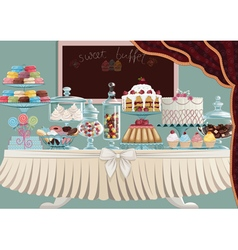 Sweet treats vector image