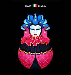 Matryoshka Italy vector image vector image