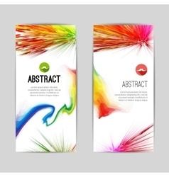 Set of Creative Trendy vertical colorful Stripes vector image