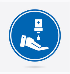 Antiseptic - icon isolated vector
