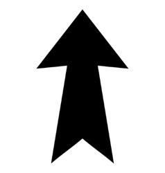 Arrow Up Flat Icon vector image