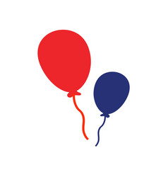 balloon icon design template isolated vector image