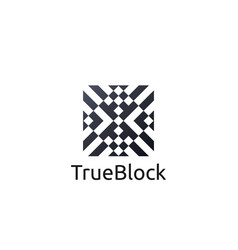 Carpet floor tile wall logo icon symbol block vector