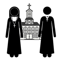 Church design vector image